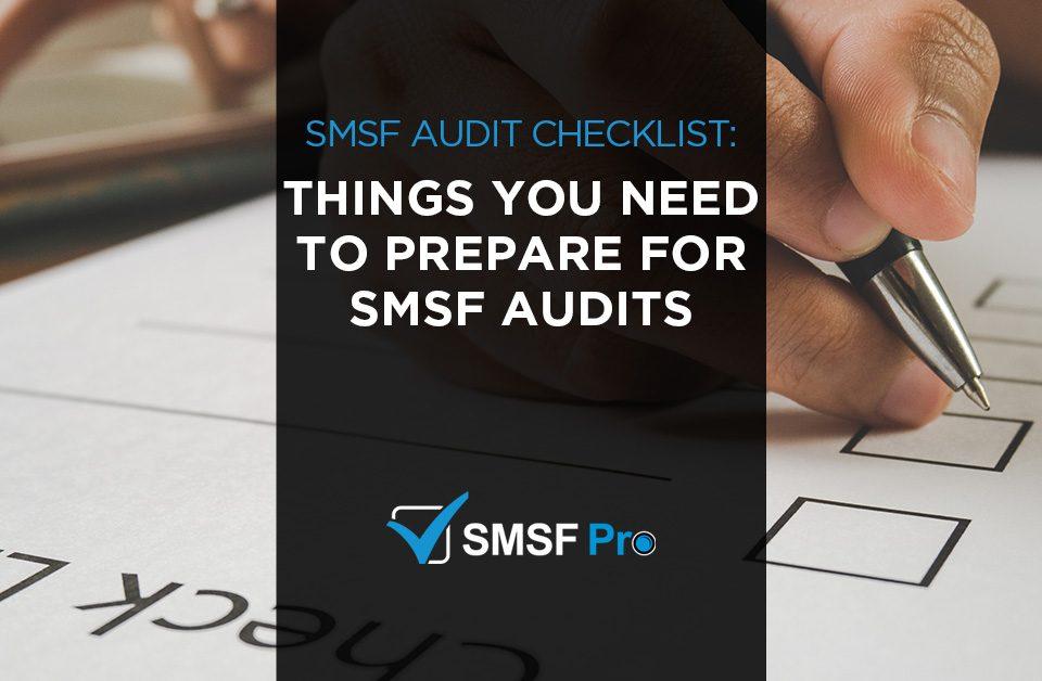 smsf audit checklist